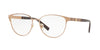 Versace VE1238 Phantos Eyeglasses  1386-BRUSHED COPPER 52-16-140 - Color Map bronze/copper
