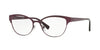Versace VE1240 Oval Eyeglasses  1397-PLUM 53-17-140 - Color Map purple/reddish