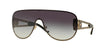 Versace VE2166 Pilot Sunglasses  12528G-PALE GOLD 41-141-140 - Color Map grey