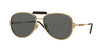 Versace VE2167Q Pilot Sunglasses  100287-GOLD 60-15-140 - Color Map gold