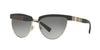 Versace VE2169 Cat Eye Sunglasses  125211-BLACK/PALE GOLD 56-16-140 - Color Map black