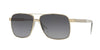 Versace VE2174 Square Sunglasses  1252T3-PALE GOLD 59-13-145 - Color Map gold