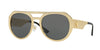 Versace VE2175 Round Sunglasses  100287-GOLD 60-17-140 - Color Map gold