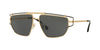 Versace VE2202 Irregular Sunglasses  143687-GOLD 57-14-140 - Color Map gold