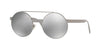 Versace VE2210 Round Sunglasses  10016G-GUNMETAL 52-21-140 - Color Map gunmetal