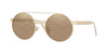 Versace VE2210 Round Sunglasses  1252V3-PALE GOLD 52-21-140 - Color Map gold