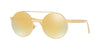 Versace VE2210 Round Sunglasses  14557P-GOLD 52-21-140 - Color Map gold
