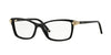 Versace VE3156 Square Eyeglasses  GB1-BLACK 53-15-135 - Color Map black