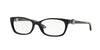 Versace VE3164 Cat Eye Eyeglasses  GB1-SHINY BLACK 53-16-135 - Color Map black
