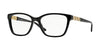 Versace VE3192B Butterfly Eyeglasses  GB1-BLACK 52-16-140 - Color Map black