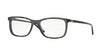 Versace VE3197 Rectangle Eyeglasses  5101-BLACK RULE 53-17-140 - Color Map black
