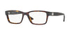 Versace VE3198A Rectangle Eyeglasses  108-DARK HAVANA 55-17-140 - Color Map brown