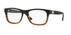 Versace VE3199 Square Eyeglasses  5117-BLACK/HAVANA 53-17-140 - Color Map black
