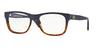 Versace VE3199 Square Eyeglasses  5118-DARK BLUE/HAVANA 53-17-140 - Color Map blue