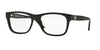 Versace VE3199 Square Eyeglasses  GB1-BLACK 53-17-140 - Color Map black