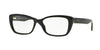 Versace VE3201 Rectangle Eyeglasses  GB1-BLACK 54-16-140 - Color Map black