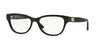 Versace VE3204 Butterfly Eyeglasses  GB1-BLACK 53-15-140 - Color Map black