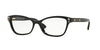 Versace VE3208 Butterfly Eyeglasses  GB1-BLACK 54-16-140 - Color Map black