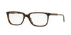 Versace VE3209 Rectangle Eyeglasses  108-HAVANA 55-17-145 - Color Map brown