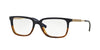 Versace VE3209 Rectangle Eyeglasses  5135-MATTE BLUE/MATTE HAVANA 55-17-145 - Color Map blue