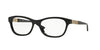 Versace VE3212B Irregular Eyeglasses  GB1-BLACK 54-16-140 - Color Map black