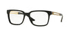 Versace VE3218 Square Eyeglasses  GB1-BLACK 53-17-140 - Color Map black