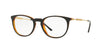 Versace VE3227 Phantos Eyeglasses  138-BLACK/TRANSPARENT ORANGE 51-20-140 - Color Map black
