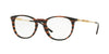 Versace VE3227 Phantos Eyeglasses  5187-BROWN RULE BLACK 51-20-140 - Color Map brown