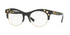 Versace VE3232 Oval Eyeglasses  GB1-BLACK 52-20-140 - Color Map black