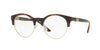 Versace VE3233B Round Eyeglasses  5217-HAVANA 49-20-140 - Color Map brown
