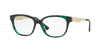 Versace VE3240 Square Eyeglasses  5076-GREEN HAVANA 54-16-140 - Color Map green