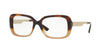 Versace VE3241 Rectangle Eyeglasses  5205-HAVANA/LIGHT BROWN 52-17-140 - Color Map light brown