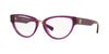 Versace VE3267A Cat Eye Eyeglasses  5291-TRANSPARENT VIOLET 53-17-140 - Color Map violet