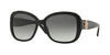 Versace VE4278BA Square Sunglasses  GB1/11-BLACK 57-17-135 - Color Map black