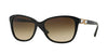 Versace VE4293B Cat Eye Sunglasses  GB1/13-BLACK 57-17-140 - Color Map black