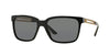 Versace VE4307 Square Sunglasses  GB1/87-BLACK 58-17-145 - Color Map black