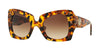 Versace VE4308B Butterfly Sunglasses  511913-HAVANA 54-22-140 - Color Map brown