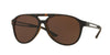 Versace VE4312 Pilot Sunglasses  517473-HAVANA RUBBER 60-15-145 - Color Map brown