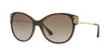 Versace VE4316B Cat Eye Sunglasses  514813-HAVANA 57-17-140 - Color Map brown