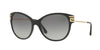 Versace VE4316B Cat Eye Sunglasses  GB1/11-BLACK 57-17-140 - Color Map black