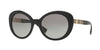 Versace VE4318A Oval Sunglasses  GB1/11-BLACK 55-20-140 - Color Map black