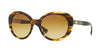 Versace VE4318 Oval Sunglasses  52022L-STRIPED HAVANA 55-20-140 - Color Map brown