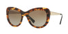 Versace VE4325A Cat Eye Sunglasses  520813-HAVANA 54-21-140 - Color Map brown