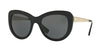 Versace VE4325A Cat Eye Sunglasses  GB1/87-BLACK 54-21-140 - Color Map black