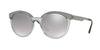 Versace VE4330 Round Sunglasses  52066V-TRANSPARENT GREY 53-20-140 - Color Map grey