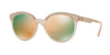Versace VE4330 Round Sunglasses  52074Z-MATTE OPAL POWDER 53-20-140 - Color Map pink
