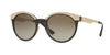Versace VE4330 Round Sunglasses  988/13-HAVANA 53-20-140 - Color Map brown