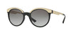 Versace VE4330 Round Sunglasses  GB1/11-BLACK 53-20-140 - Color Map black