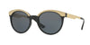Versace VE4330 Round Sunglasses  GB1/87-BLACK 53-20-140 - Color Map black