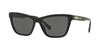 Versace VE4354BA Cat Eye Sunglasses  GB1/87-BLACK 55-16-140 - Color Map black